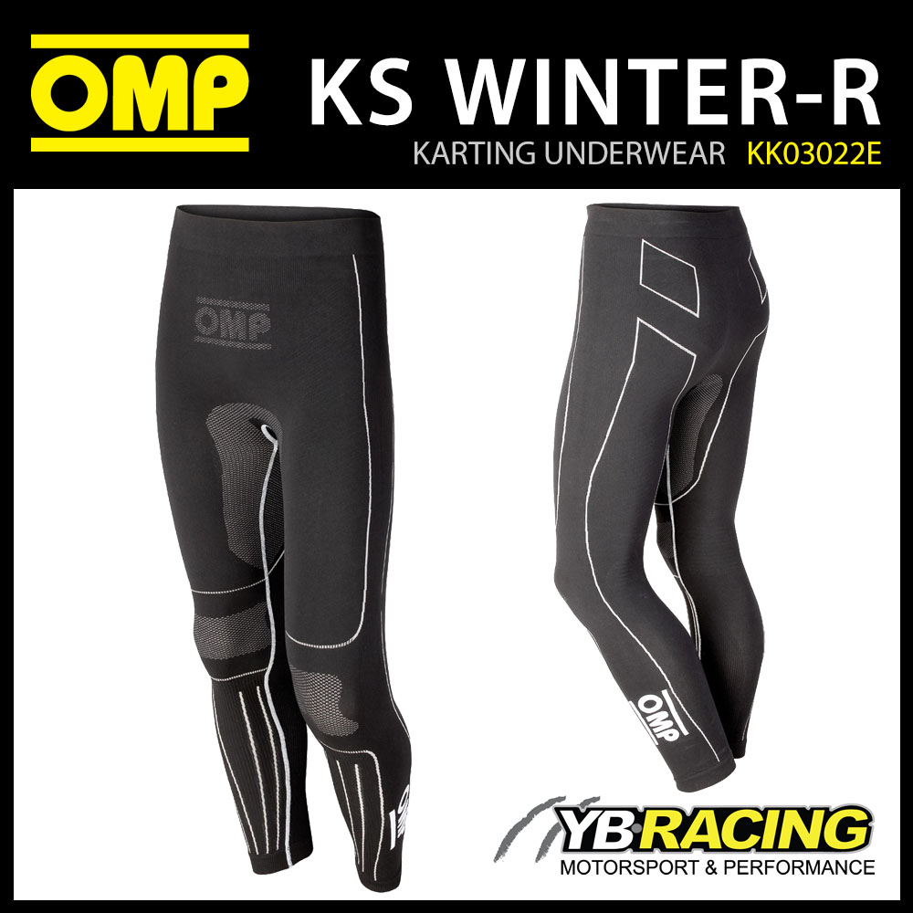 KK03022E OMP KARTING WINTER-R LONG PANTS BASE LAYER