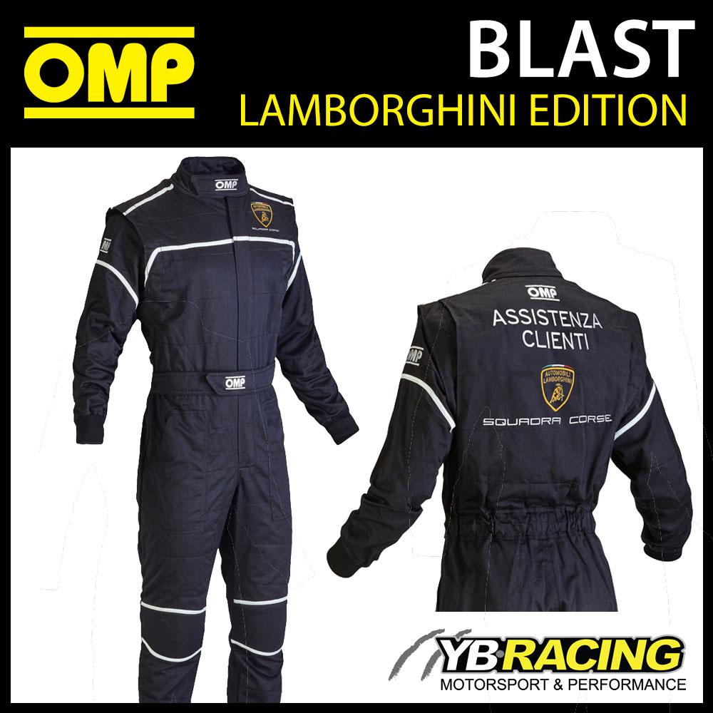 Nb1578 Omp Lamborghini Edition Mechanic Suit Pit Crew Overalls