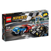 75881 LEGO 2016 Ford GT & 1966 Ford GT40 SPEED CHAMPIONS