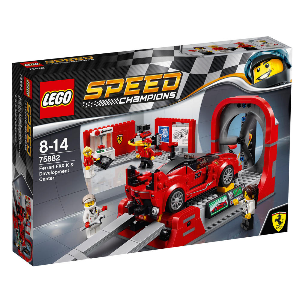 75882 LEGO Ferrari FXX K & Development Center SPEED CHAMPIONS