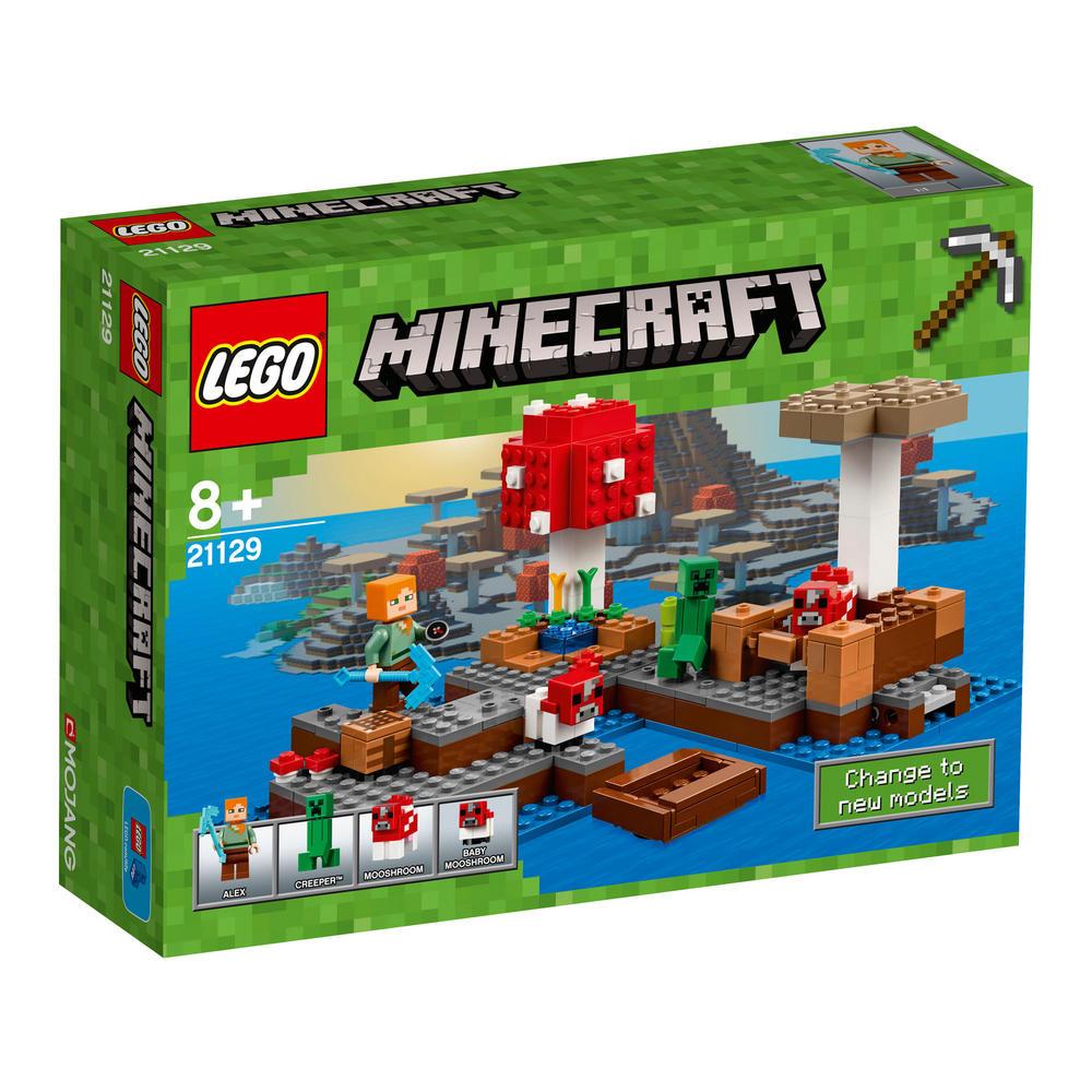 21129 LEGO The Mushroom Island MINECRAFT