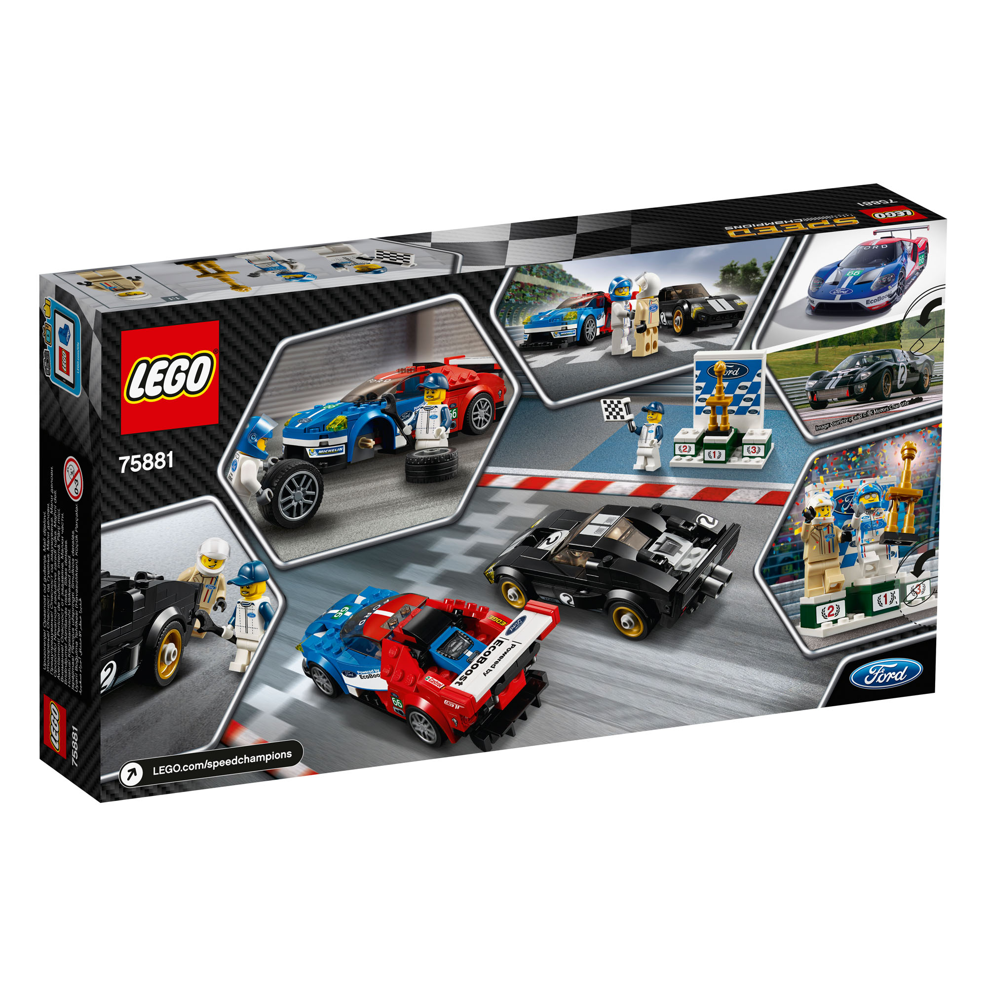 Lego Speed Champions  Ford Gt  Ford Gt Pc Age