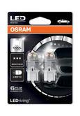 Osram Premium LED 582/382W Cool White 6000K Bulbs W21W W3x16d T20 3W 7905CW-02B