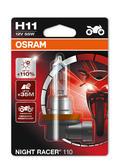 Osram H11 (711) Night Racer 110 Motorbike Bulb Heavy Duty 12V 55W 64211NR1-01B