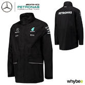 2017 Mercedes-AMG F1 Lewis Hamilton Formula 1 Team Rain Jacket Coat by Hugo Boss
