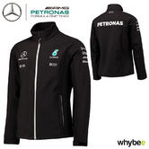 2017 Mercedes-AMG F1 Lewis Hamilton Formula 1 Team Softshell Jacket by Hugo Boss