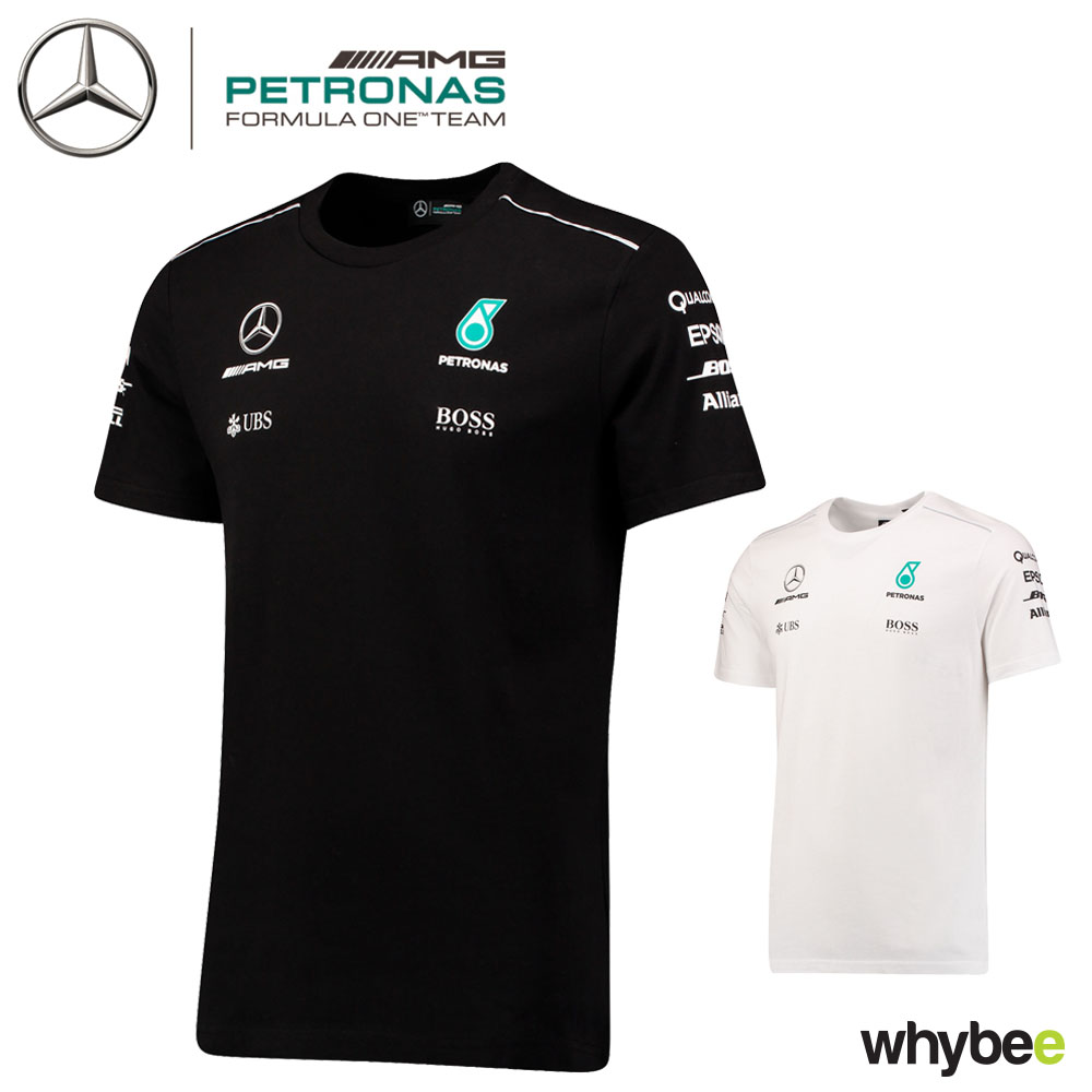 2017 mercedes amg f1 lewis hamilton mens t shirt hugo boss. Black Bedroom Furniture Sets. Home Design Ideas