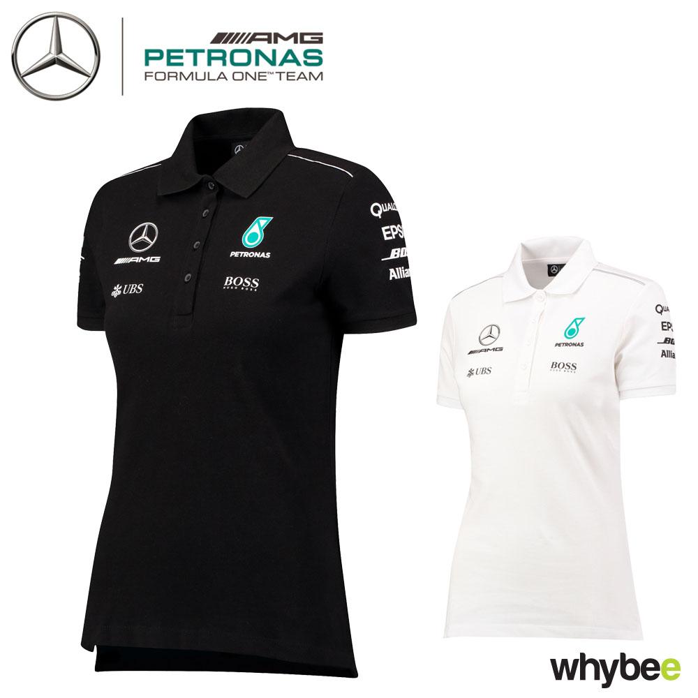 dada2fd5 Details about 2017 Mercedes-AMG F1 Lewis Hamilton Ladies Team Polo Shirt  for Womens & Girls