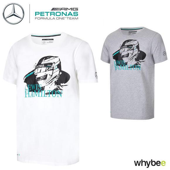 d4f3f81a65 Sentinel Lewis Hamilton F1 Helmet Design Mens T-Shirt 2017 by Mercedes-AMG  Formula 1