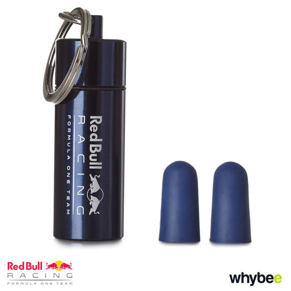 New! 2017 Red Bull Racing Formula One Team Pair of Earplugs in Carry Case