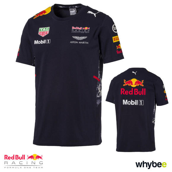 New! 2017 Red Bull Racing Formula One Mens Team T-Shirt Official Puma F1 Range