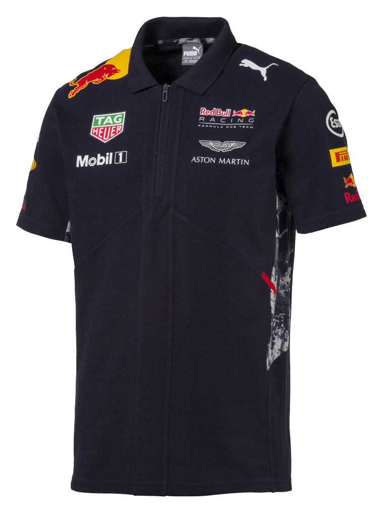 2691eb51 New! 2017 Red Bull Racing Formula One Team Mens Polo Shirt Official ...