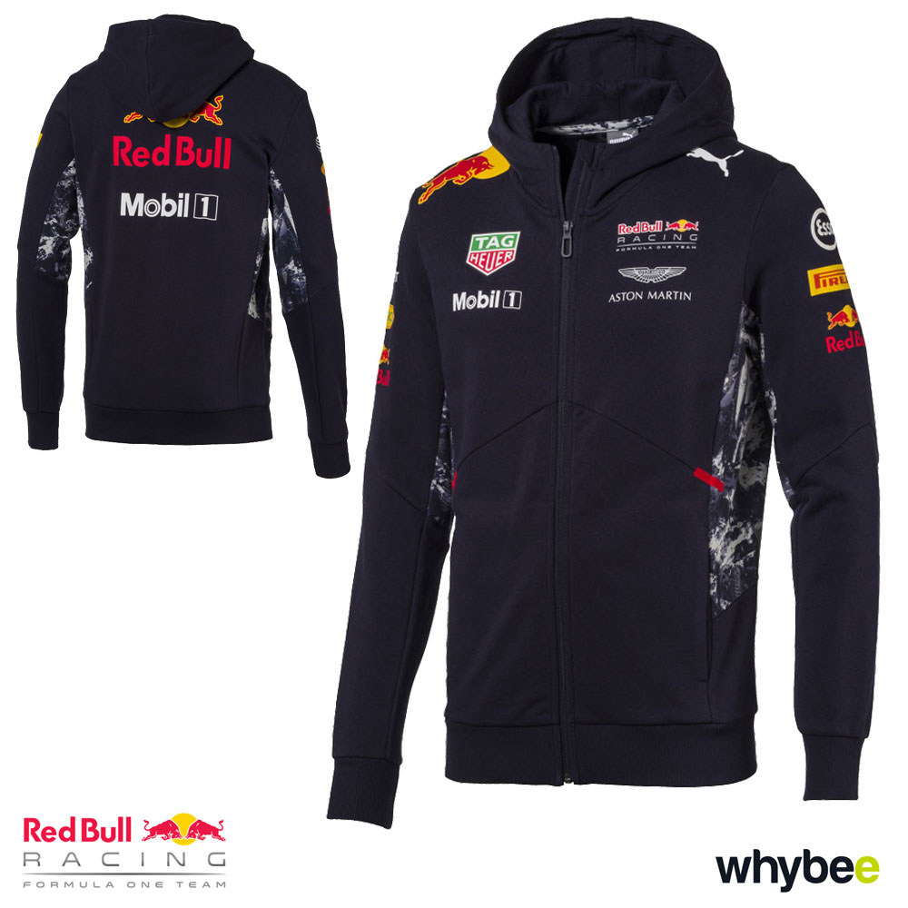 new 2017 red bull racing formula one team mens hooded. Black Bedroom Furniture Sets. Home Design Ideas