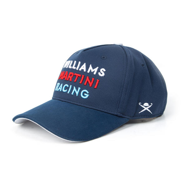 New! 2017 Williams Martini Racing F1 Formula One Team Cap