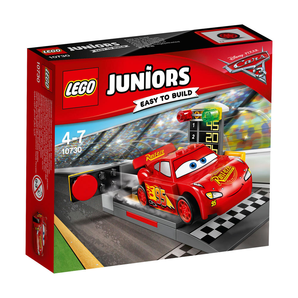 10730 LEGO Lightning Mcqueen Speed Launcher JUNIORS