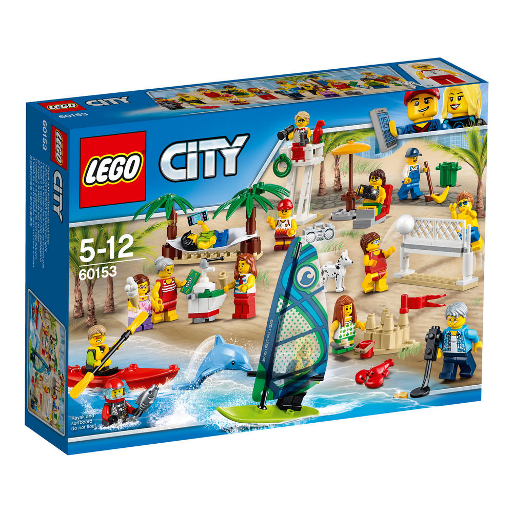 60153 LEGO People Pack ? Fun At The Beach CITY TOWN