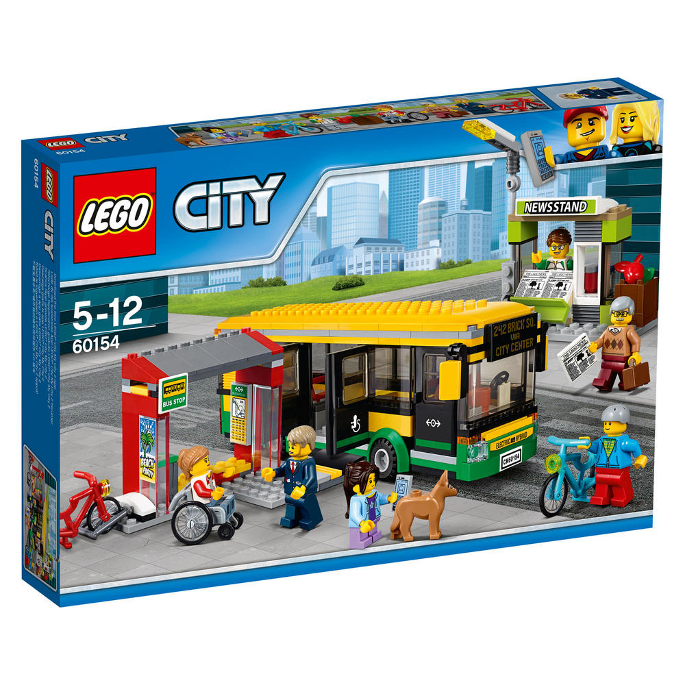 60154 LEGO Bus Station CITY TOWN