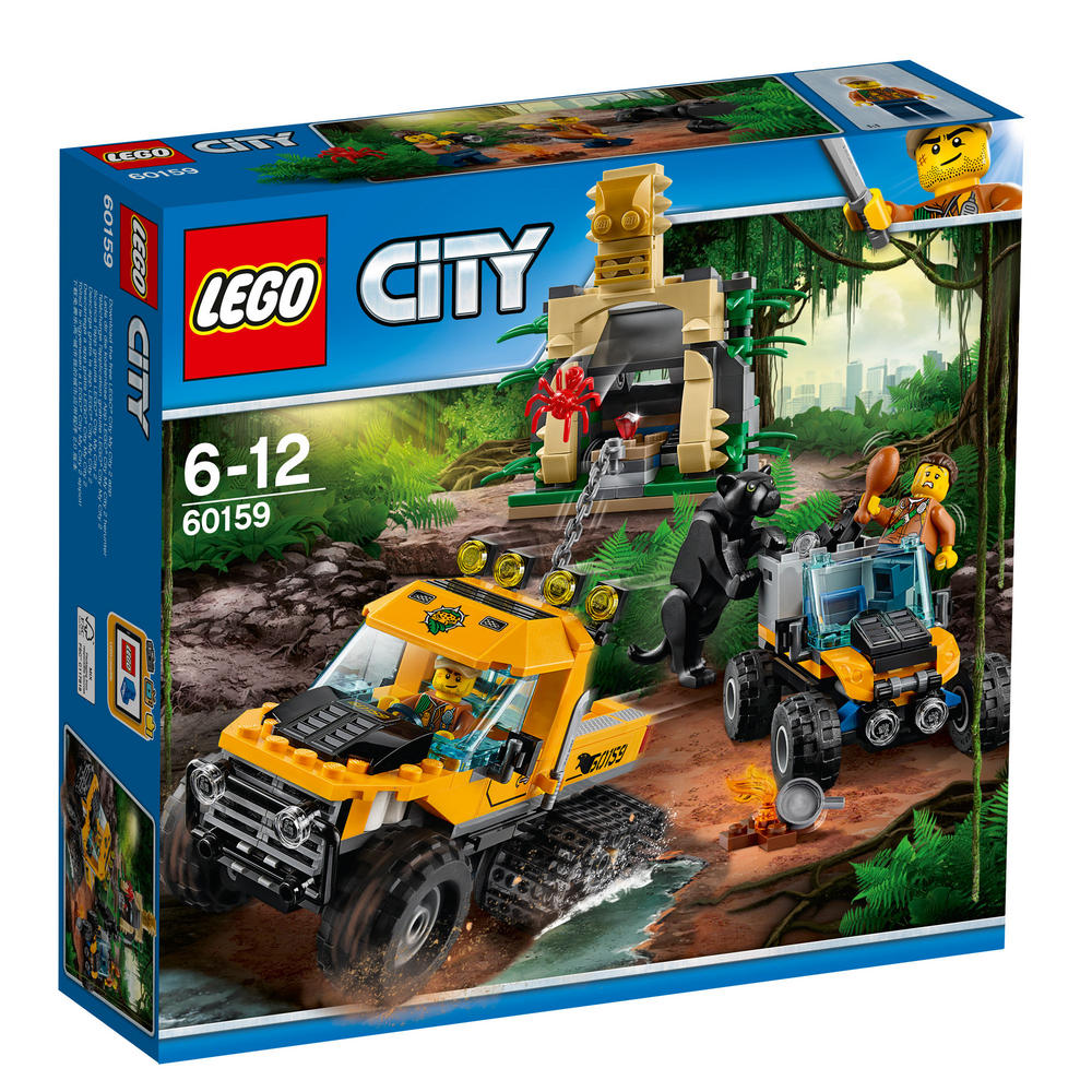 60159 LEGO Jungle Halftrack Mission CITY JUNGLE