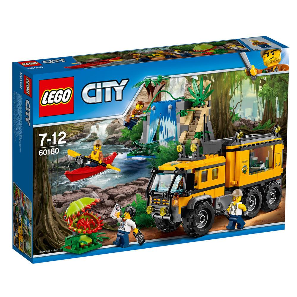 60160 LEGO Jungle Mobile Lab CITY JUNGLE