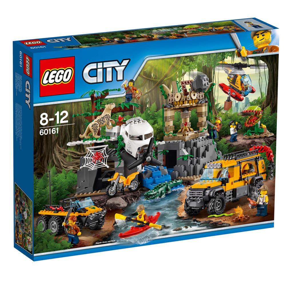 60161 LEGO Jungle Exploration Site CITY JUNGLE