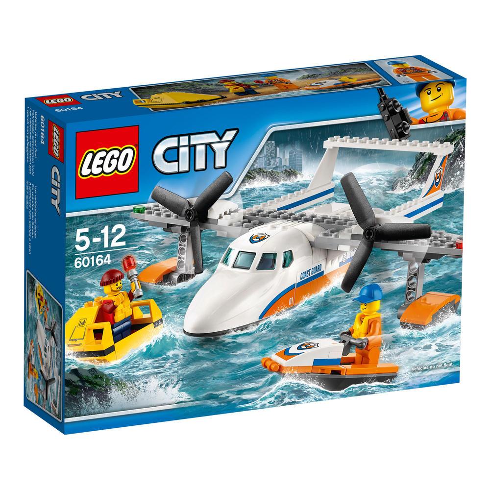 60164 LEGO Sea Rescue Plane CITY COAST GUARD
