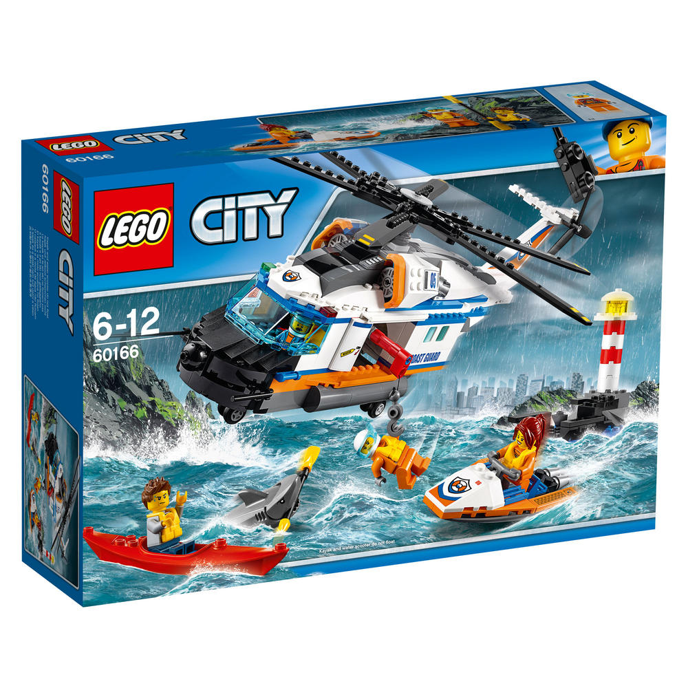 60166 LEGO Heavy-duty Rescue Helicopter CITY COAST GUARD