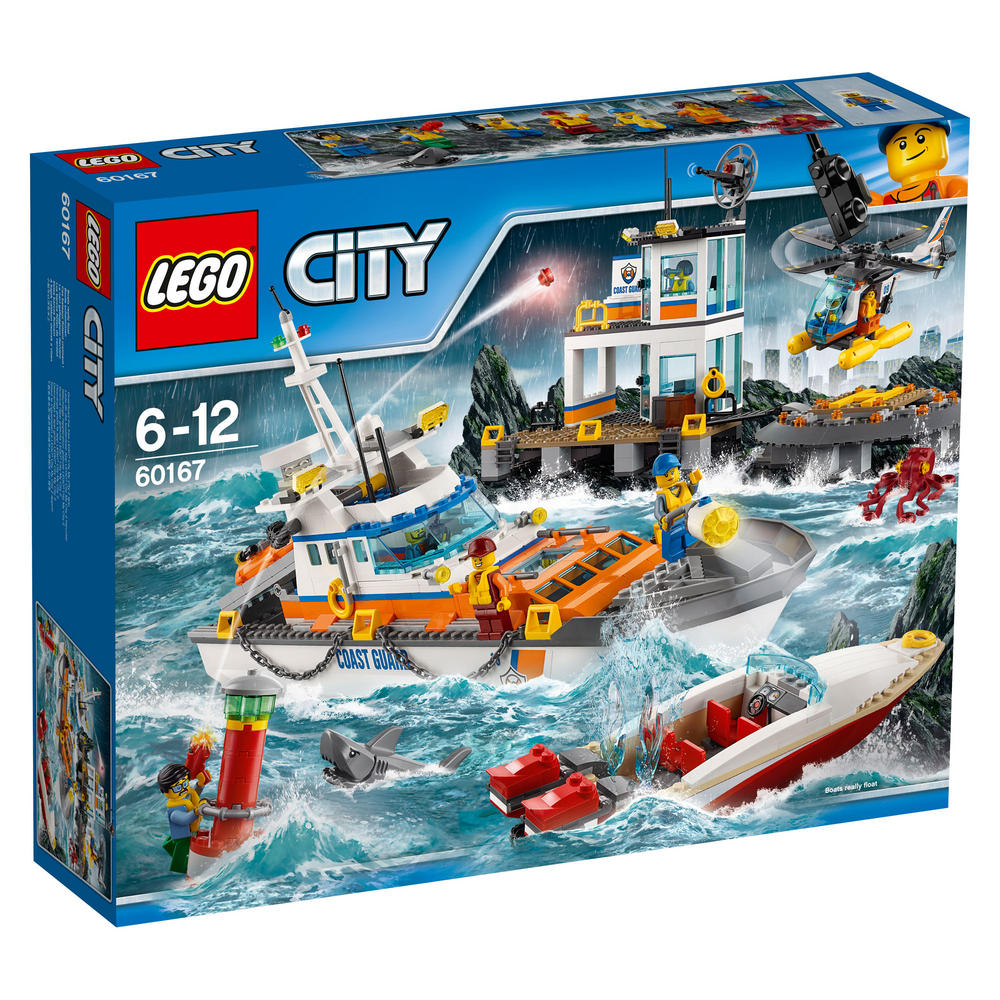60167 LEGO Coast Guard Head Quarters CITY COAST GUARD