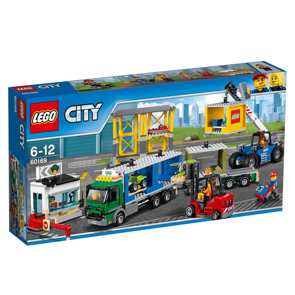 60169 LEGO Cargo Terminal CITY TRAINS