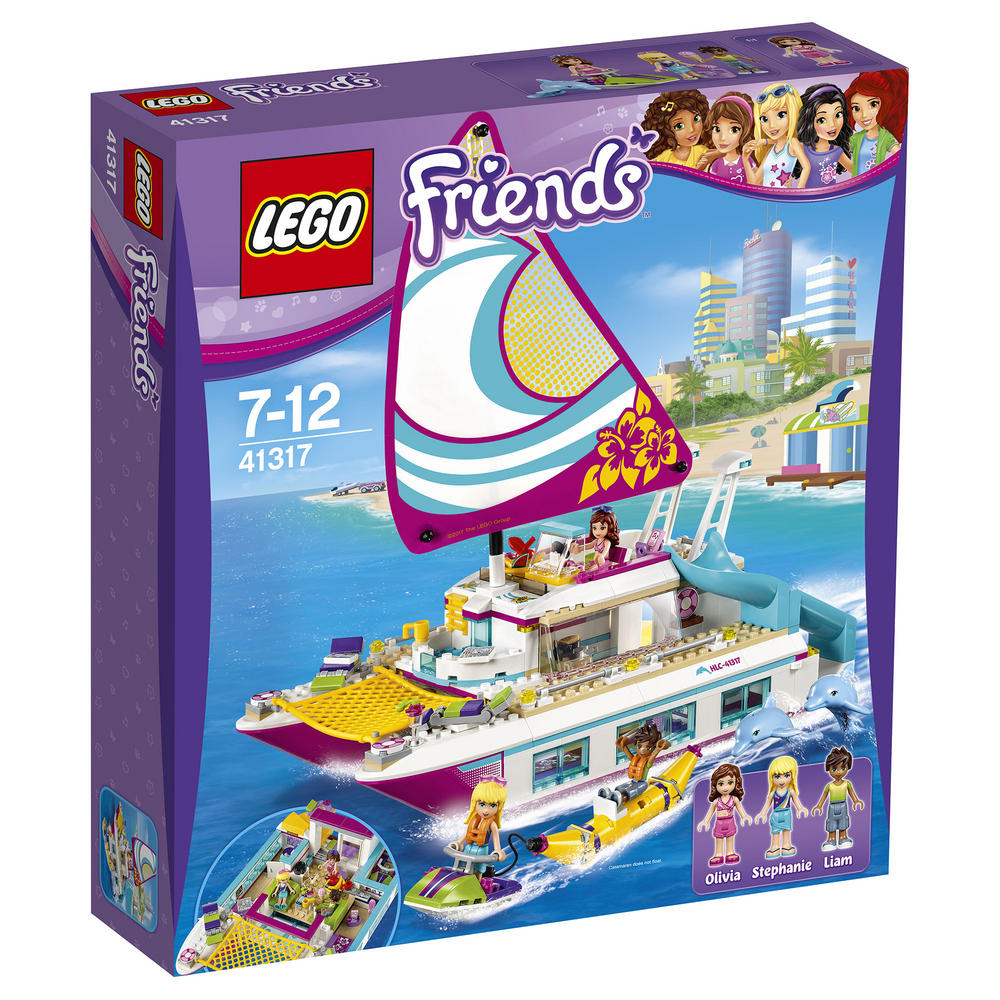 41317 LEGO Sunshine Catamaran FRIENDS