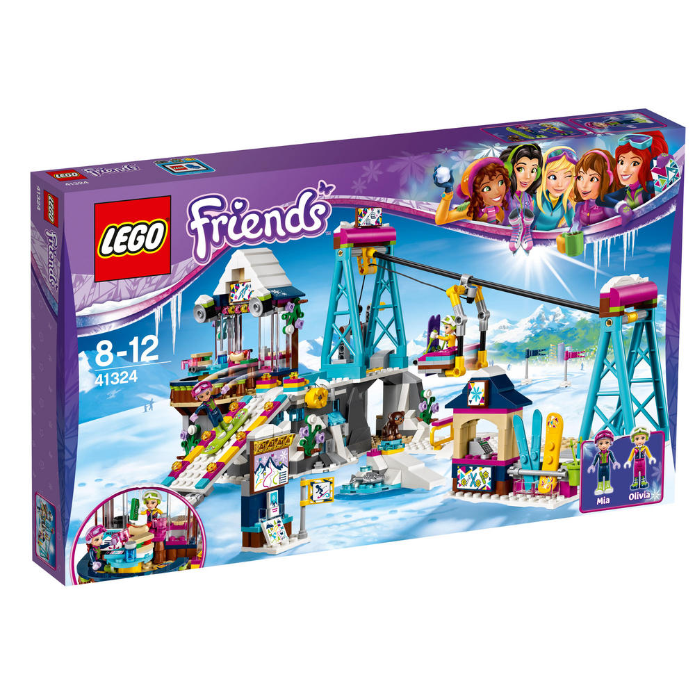41324 LEGO Snow Resort Ski Lift FRIENDS