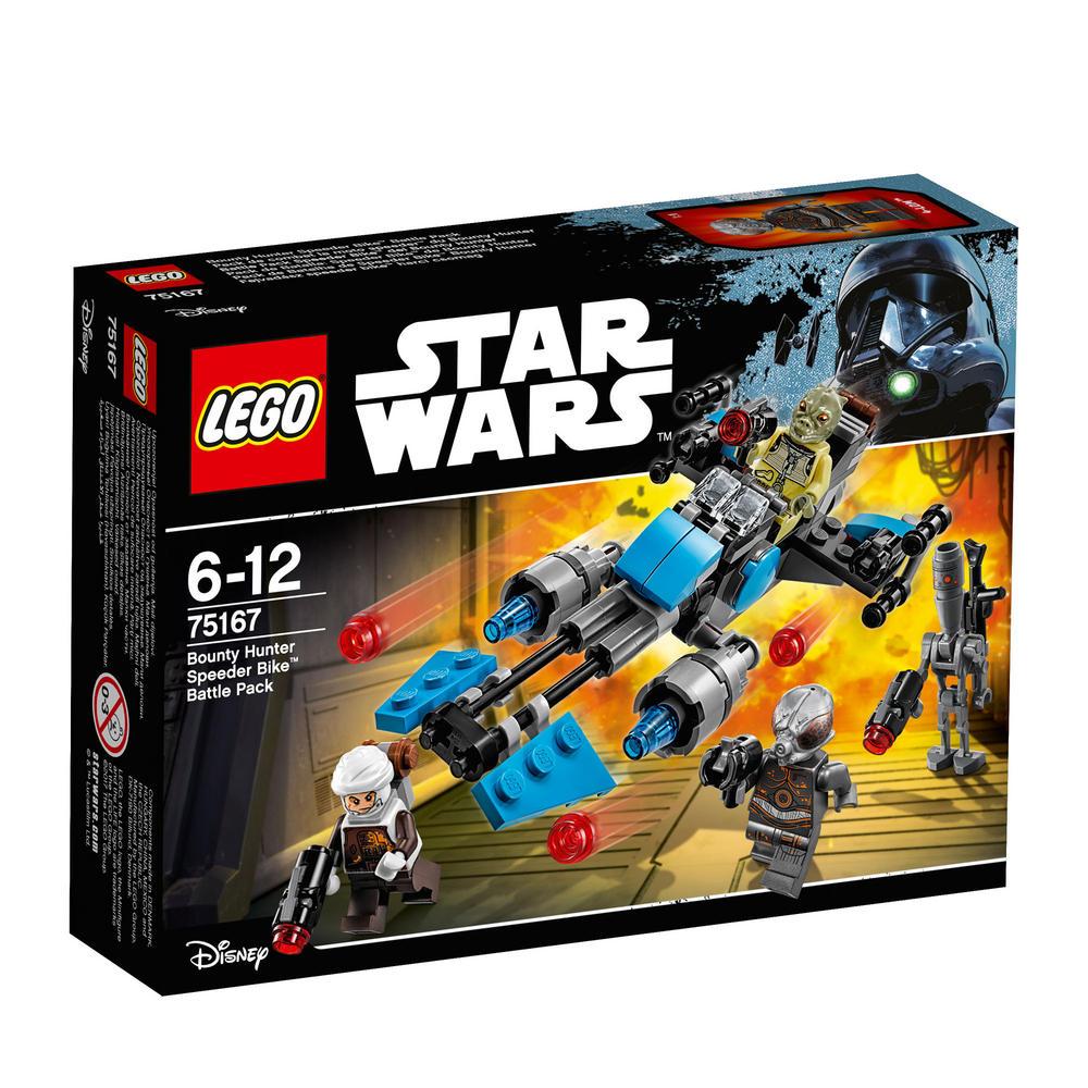 75167 LEGO Bounty Hunter Speeder Bike? Battle Pack STAR WARS