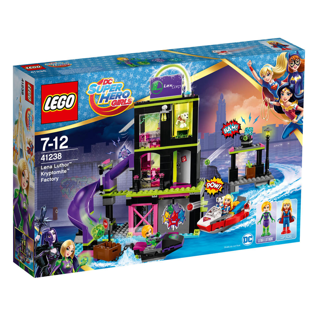 41238 LEGO Lena Luthor? Kryptomite? Factory DC SUPER HERO GIRLS