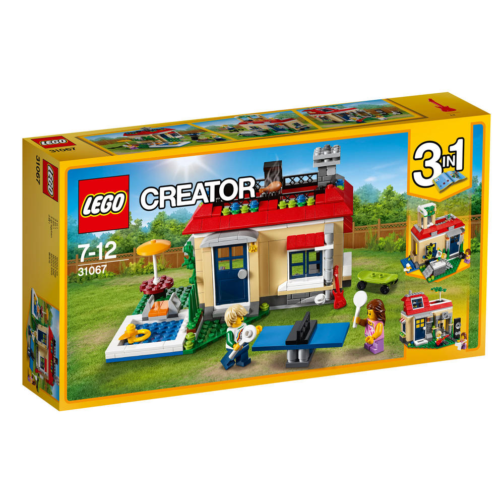 31067 LEGO Modular Poolside Holiday CREATOR