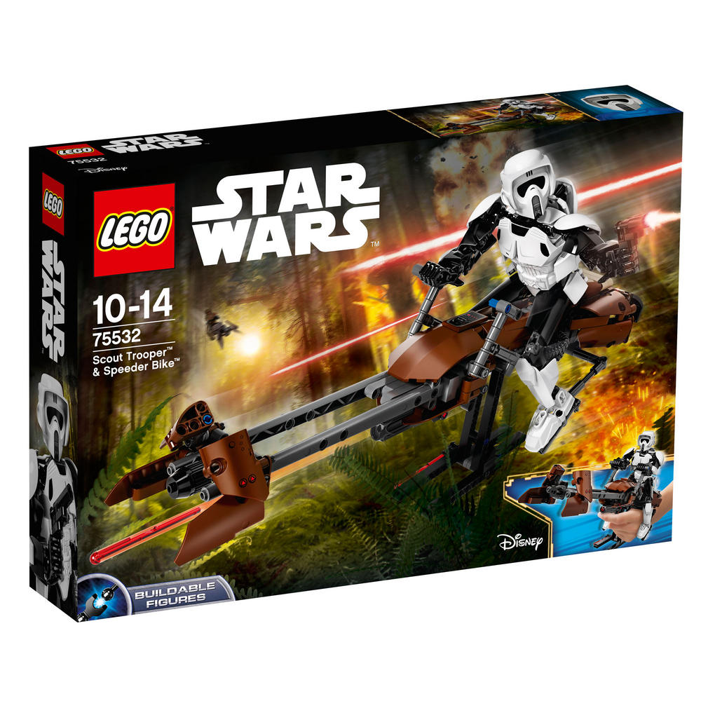 75532 LEGO Scout Trooper? & Speeder Bike? STAR WARS