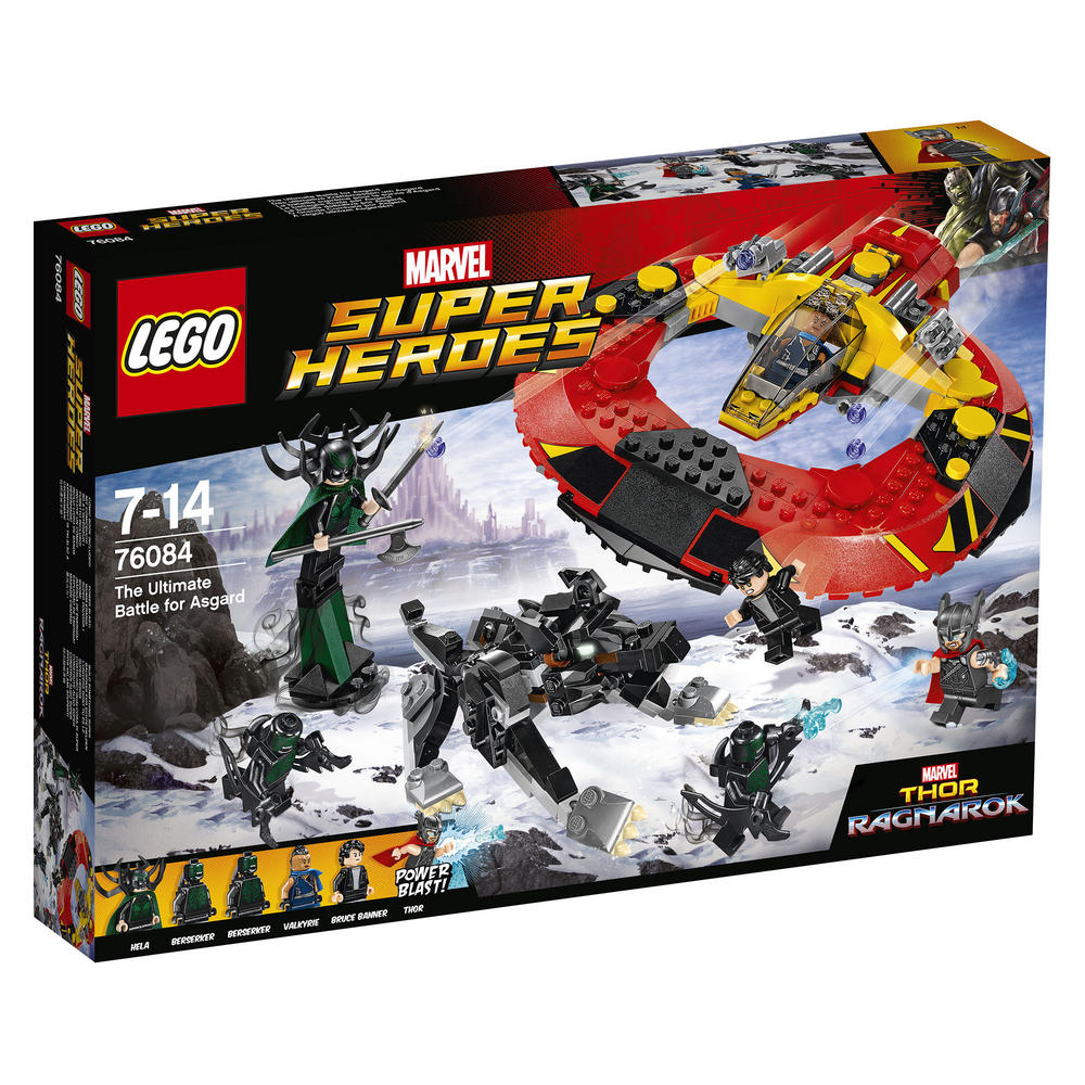 76084 LEGO The Ultimate Battle for Asgard MARVEL SUPER HEROES