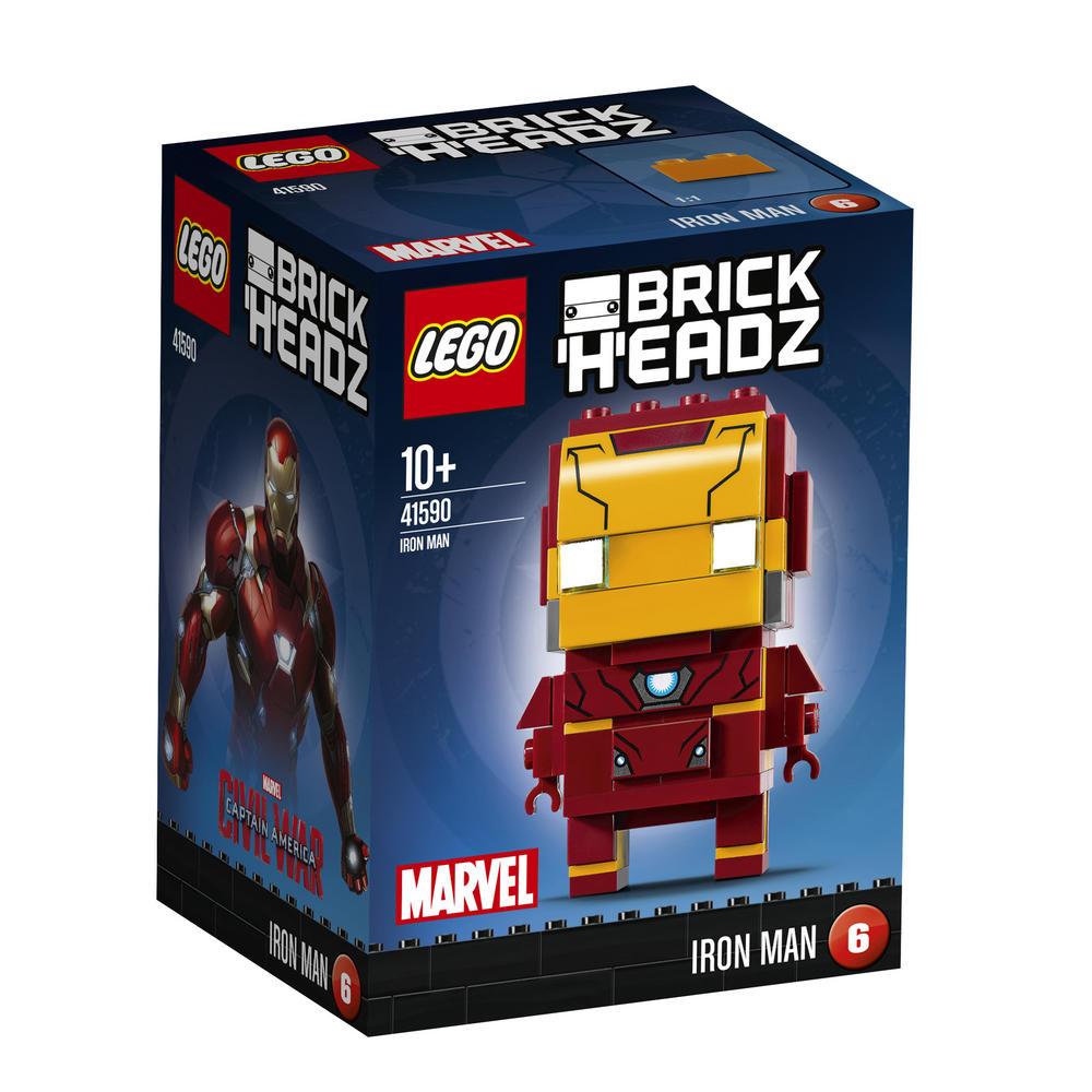 41590 LEGO Brick Headz Iron Man BRICKHEADZ