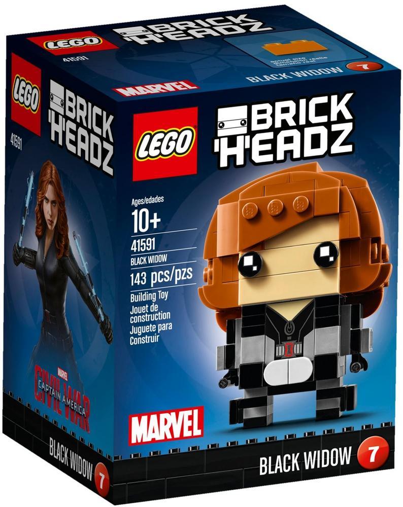 41591 LEGO Brick Headz Black Widow BRICKHEADZ