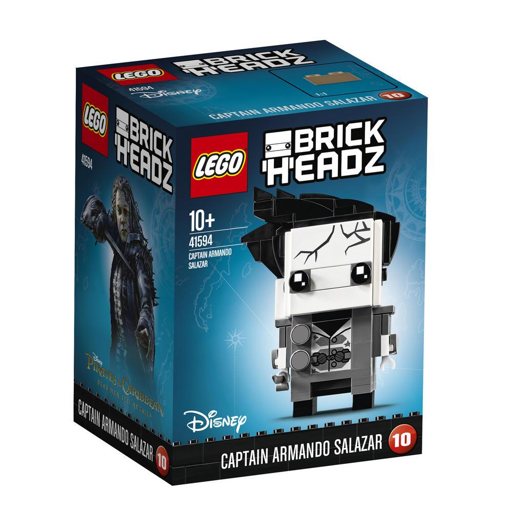 41594 LEGO Brick Headz Captain Armando Salazar BRICKHEADZ
