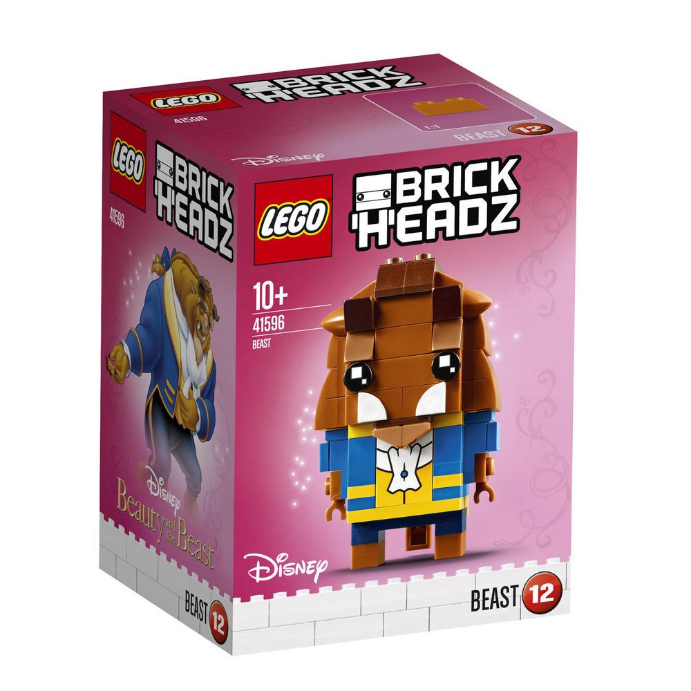 41596 LEGO Brick Headz Beauty and the Beast - Beast BRICKHEADZ