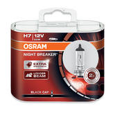 New! Osram H7 Night Breaker Longer Beam Bulbs (x2) Extra Brightness 64210NB-HCB