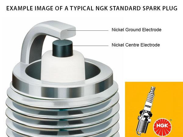 nuovo in scatola x1 97985 MR8C-9N standard NGK SPARK PLUG