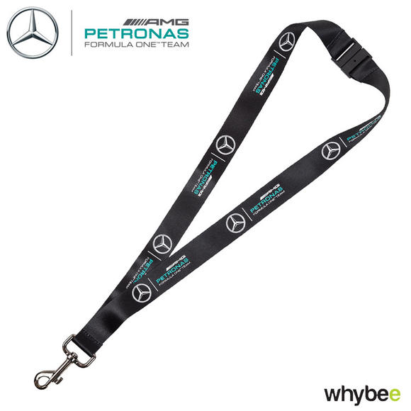 2017 Mercedes-AMG Formula 1 Team Lanyard Neck Strap Ticket Holder
