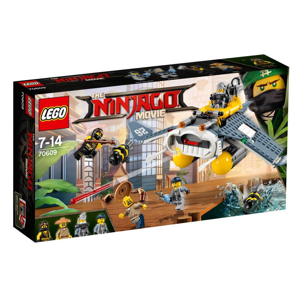 70609 LEGO Manta Ray Bomber NINJAGO