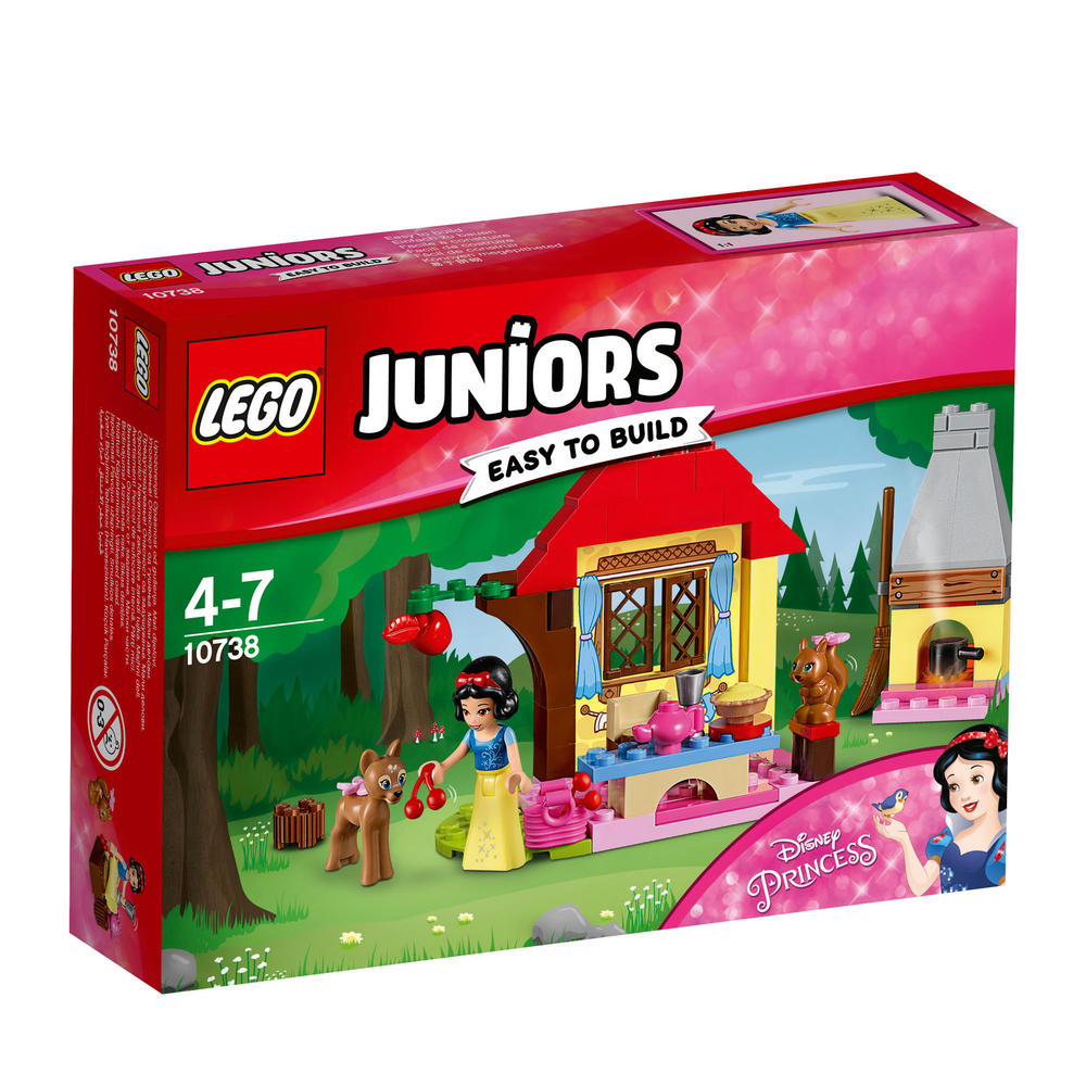 10738 LEGO Snow White's Forest Cottage JUNIORS