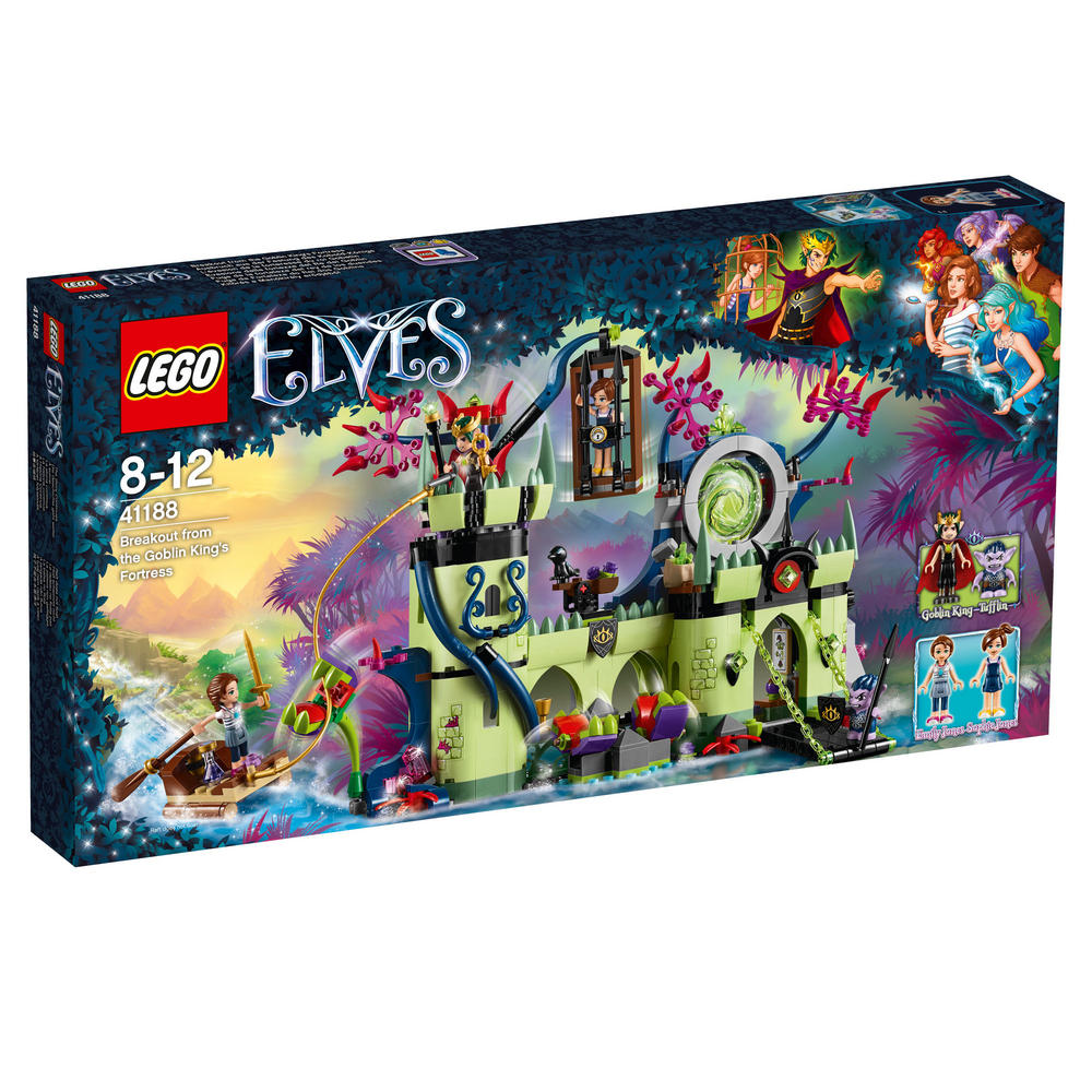 41188 LEGO Breakout from the Goblin King's Fortress ELVES