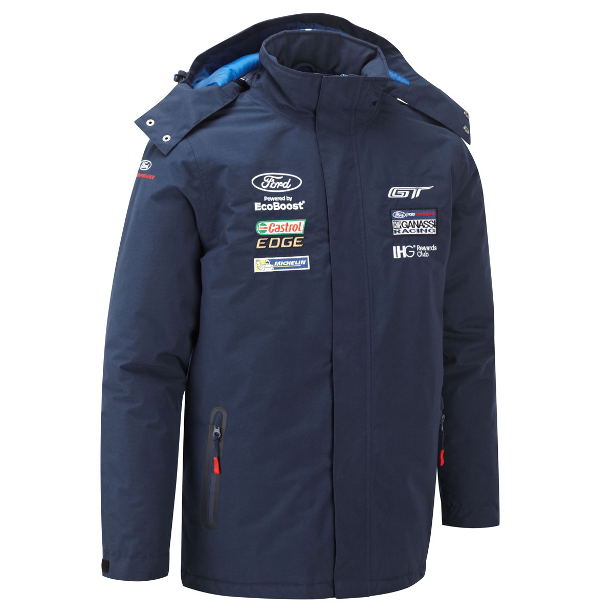 Sentinel  Ford Motorsport Mens Heavyweight Winter Jacket Coat Wec Ford Gt Ganassi