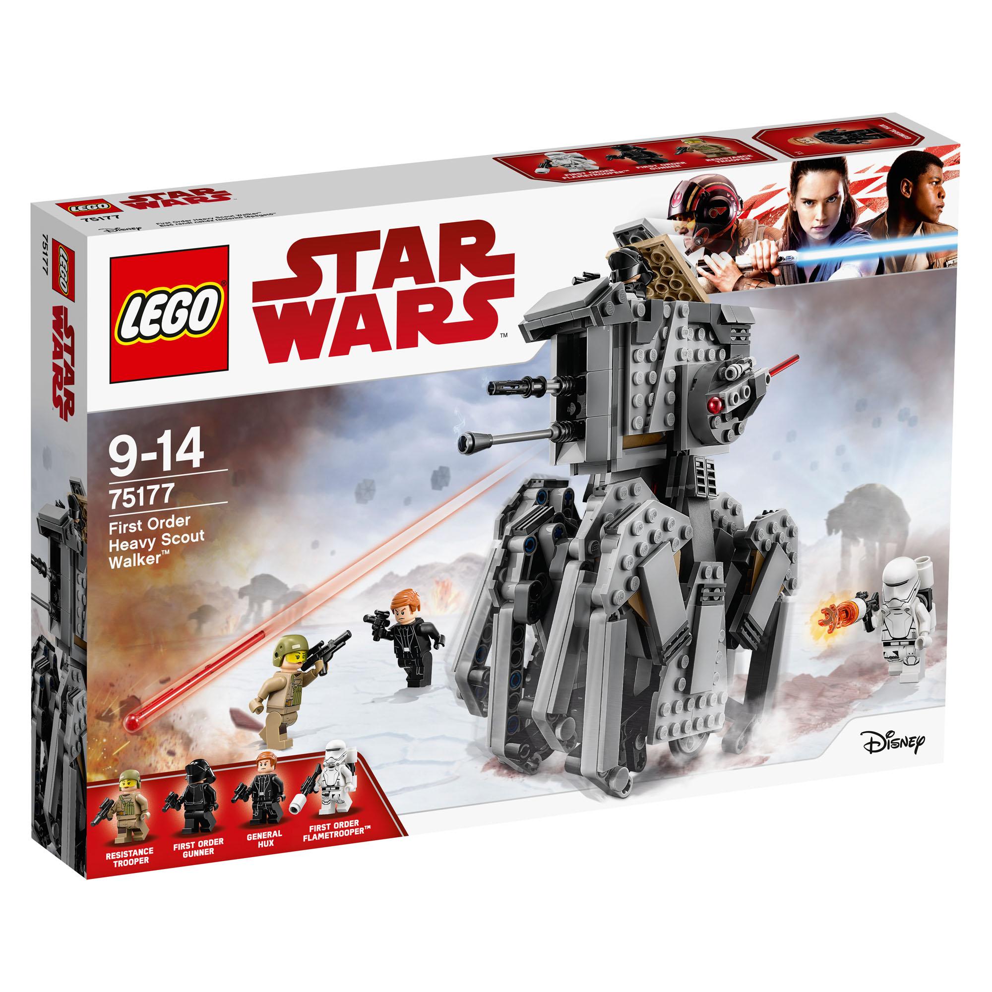 Lego Star Wars First Order Heavy Scout Walker 75177