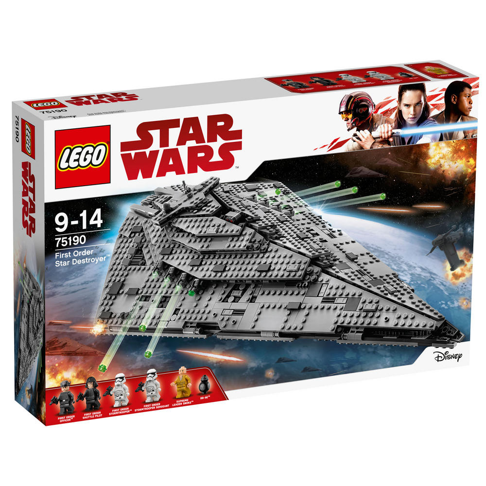 75190 LEGO First Order Star Destroyer? STAR WARS