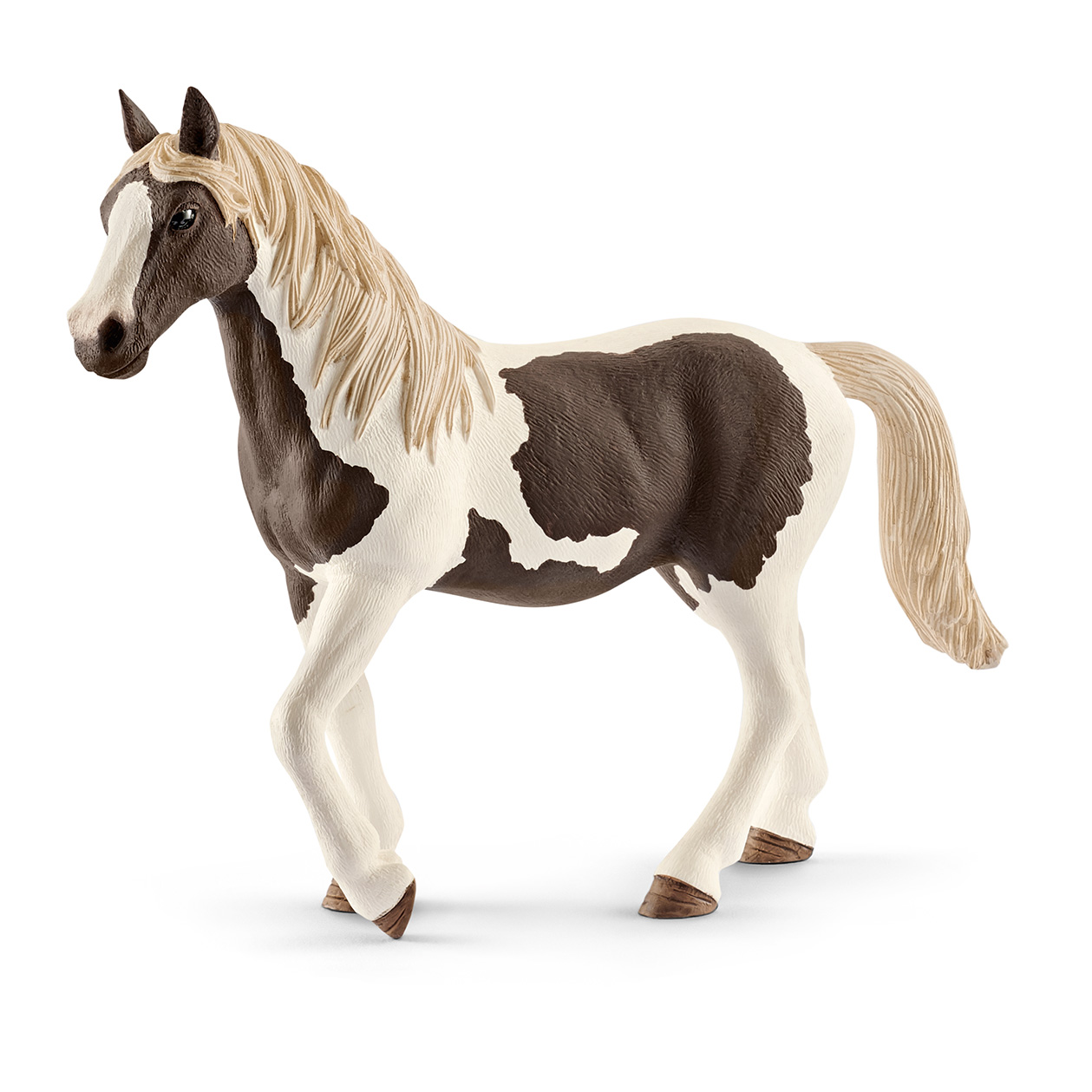 Pinto Foal Schleich Farm Life Horse Figure model number 13803