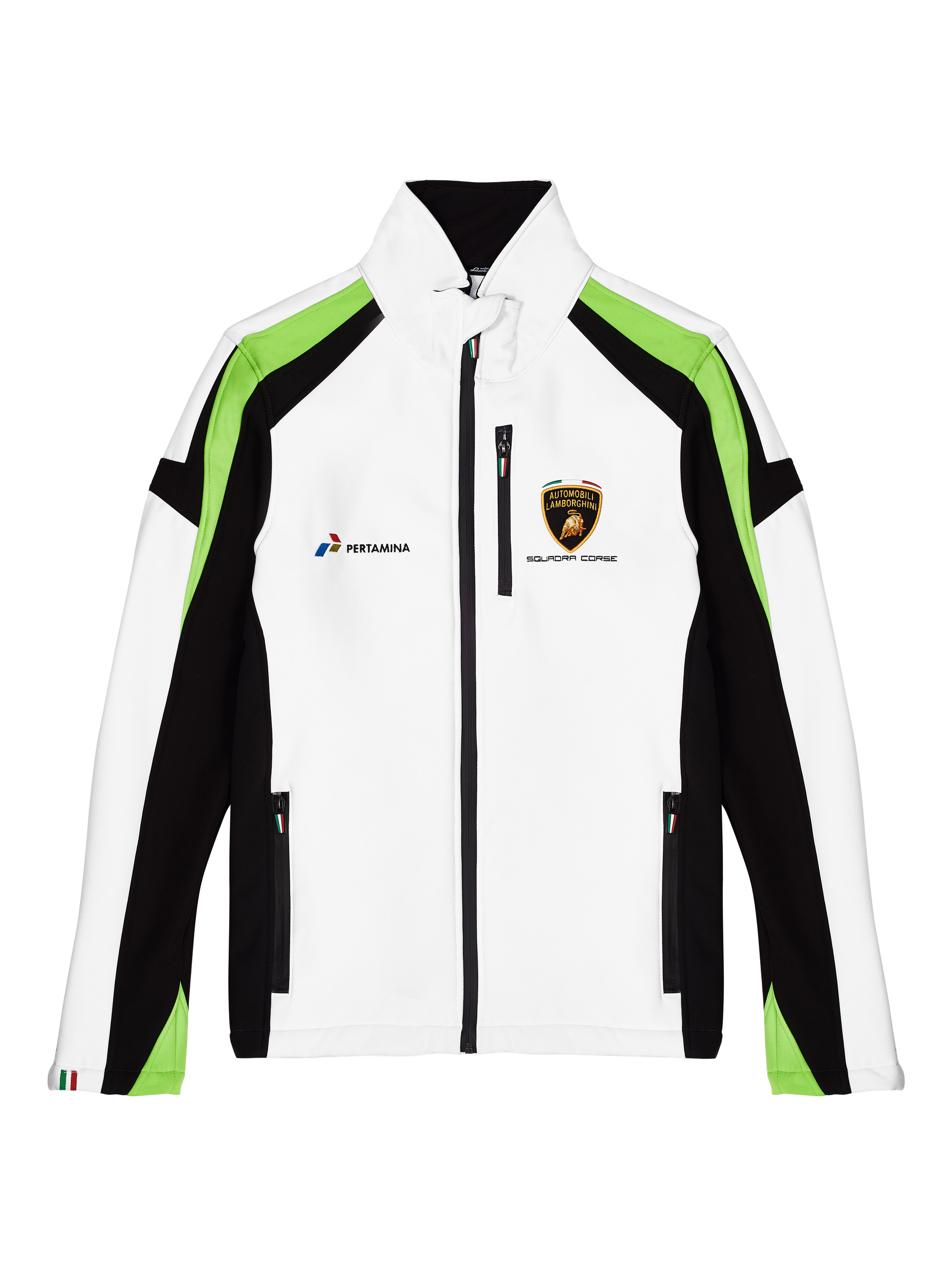 Lc281806 Lamborghini Squadra Corse Gt3 Team Men S Softshell Jacket
